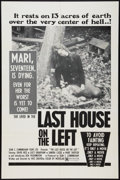 """Movie Posters:Horror, The Last House on the Left (Sean S. Cunningham Films, 1977). One Sheet (27"""" X 41""""). Horror.. ..."""