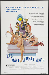 "Let's Make a Dirty Movie (Group 1, 1975). One Sheet (27"" X 41""). Sexploitation"
