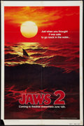 """Movie Posters:Horror, Jaws 2 (Universal, 1978). One Sheet (27"""" X 41""""). Advance. Horror.. ..."""