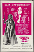 """Movie Posters:Horror, Spirits of the Dead (American International, 1969). One Sheet (27"""" X 41""""). Horror.. ..."""
