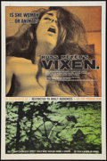 "Movie Posters:Adult, Vixen! (Eve Productions, 1968). One Sheet (27"" X 41""). Adult.. ..."