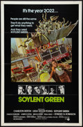 "Movie Posters:Science Fiction, Soylent Green (MGM, 1973). One Sheet (27"" X 41""). Science Fiction.. ..."