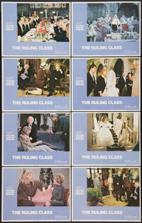 """The Ruling Class (Avco Embassy, 1972). Lobby Card Set of 8 (11"""" X 14""""). Comedy. ... (Total: 8 Items)"""