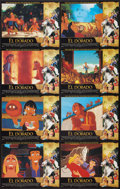 """Movie Posters:Animation, The Road to El Dorado (DreamWorks, 2000). Lobby Card Sets of 8 (2) (11"""" X 14""""). Animation.. ... (Total: 16 Items)"""