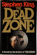 Books:Horror & Supernatural, Stephen King. The Dead Zone. New York: The Viking Press,1979.. First edition. Inscribed and dated by the au...