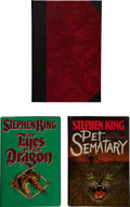 Books:Horror & Supernatural, Stephen King. Three Signed and Dated First Editions, including:Christine. New York: The Viking Press, 1983. First e...(Total: 3 Items)