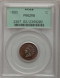 Proof Indian Cents: , 1893 1C PR62 Red and Brown PCGS. PCGS Population (12/195). NGC Census: (4/258). Mintage: 2,195. Numismedia Wsl. Price for p...