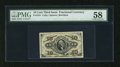 Fractional Currency:Third Issue, Fr. 1251 10c Third Issue PMG Choice About Unc 58....