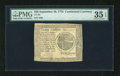 Colonial Notes:Continental Congress Issues, Continental Currency September 26, 1778 $20 PMG Choice Very Fine35EPQ....