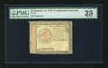 Colonial Notes:Continental Congress Issues, Continental Currency January 14, 1779 $5 PMG Very Fine 25....