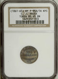 Civil War Merchants: , (1861-65) C.J. Hauck, Not One Cent, Fuld-NY-95B-1A, R.2, MS65 BrownNGC. Copper. A Gem glossy example with hints of blue ton...