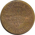 Civil War Merchants: , (1861-65) G. Graham Liquors, Fuld-NY-630AE-1a, R.2, MS65 NGC.Copper. This is normally a common Civil War Token, but here in...