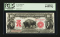 Large Size:Legal Tender Notes, Fr. 122 $10 1901 Legal Tender PCGS Very Choice New 64PPQ.. ...