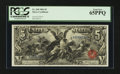 Large Size:Silver Certificates, Fr. 268 $5 1896 Silver Certificate PCGS Gem New 65PPQ.. ...