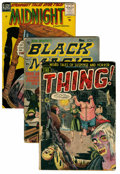 Golden Age (1938-1955):Horror, Miscellaneous Golden Age Horror Group (Various, 1952-64) Condition:Average GD.... (Total: 13 Comic Books)