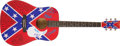 Music Memorabilia:Autographs and Signed Items, Lynyrd Skynyrd Band-Signed Guitar....
