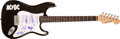 Music Memorabilia:Autographs and Signed Items, AC/DC Band-Signed Guitar....