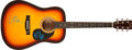Music Memorabilia:Autographs and Signed Items, Everly Brothers Signed Guitar....