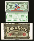 "Miscellaneous:Other, ""Bank Note"" Cigar Box Label.. ... (Total: 3 items)"