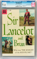 Silver Age (1956-1969):Adventure, Four Color #775 Sir Lancelot and Brian - Circle 8/Canadian Edition (Dell, 1957) CGC NM+ 9.6 Cream to off-white pages....