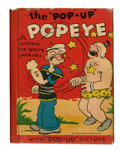 Big Little Book:Cartoon Character, Big Little Book #102 Popeye Pop-Up Book (Whitman, 1934) Condition: GD/VG....