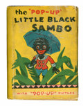 Big Little Book:Humor, Big Little Book #105 Little Black Sambo Pop-Up Book (Whitman, 1934)Condition: GD....