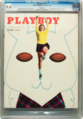 Magazines:Miscellaneous, Playboy #11 (HMH Publishing, 1954) CGC NM 9.4 White pages....