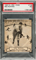 Baseball Cards:Singles (1930-1939), 1937 O-Pee-Chee Red Ruffing #136 PSA NM 7....