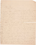 Autographs:Authors, Harriet Beecher Stowe Autograph Letter Signed to Myrtilla Miner, Founder of the Normal School for Colored Girls. ...