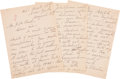 Autographs:Celebrities, Elizabeth Cady Stanton Autograph Letter Signed Correcting a Mistakein The Cosmopolitan Regarding Her Precedence i...
