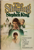 Books:Horror & Supernatural, Stephen King. The Shining. Garden City: Doubleday &Company, 1977.. First edition. Inscribed and dated b...