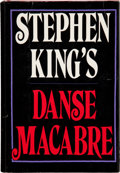 Books:Horror & Supernatural, Stephen King. Danse Macabre. New York: Everest House, 1981..First edition inscribed by the author on the ...