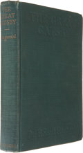 Books:Literature 1900-up, F. Scott Fitzgerald. The Great Gatsby. New York: CharlesScribner's Sons, 1925.. First edition, first issue. O...