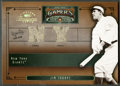 "Baseball Cards:Singles (1970-Now), 2005 Donruss Timeless Treasures ""Gamers"" Jim Thorpe Baseball JerseySwatch Card #23 / 25. ..."