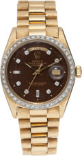 Football Collectibles:Others, 1972 Bob Lilly Super Bowl VI Gold Rolex President Watch....