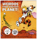 Memorabilia:Comic-Related, Bill Watterson Signed Copy of Weirdos From Another Planet!: a Calvin and Hobbes Collection (Andrews an...