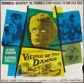 "Movie Posters:Science Fiction, Village of the Damned (MGM, 1960). Six Sheet (81"" X 81""). ScienceFiction.. ..."