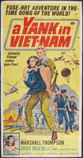 "Movie Posters:War, A Yank in Viet-Nam (Allied Artists, 1964). Three Sheet (41"" X 81"").War.. ..."