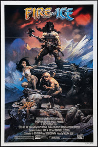 """Fire and Ice (20th Century Fox, 1983). One Sheet (27"""" X 41""""). Fantasy"""