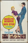 "Movie Posters:Drama, Bus Stop (20th Century Fox, 1956). One Sheet (27"" X 41""). Drama.. ..."