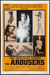 """The Arousers Lot (New World, 1970). One Sheets (2) (27"""" X 41""""). Sexploitation"""