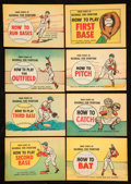 Baseball Collectibles:Publications, 1966 Baseball Hints For Little, Junior, Babe Ruth Players Booklets(24). ...