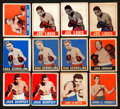 Boxing Cards:General, 1948 Leaf Boxing Collection (90) With Three Schmeling Cards. ...