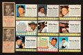 Baseball Cards:Lots, 1954 New York Journal American and 1960's Post Cereal Collection(153 total). ...