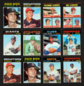 Baseball Cards:Sets, 1971 Topps Baseball Mid To High Grade Partial Set Pair (approx. 800 total). ...