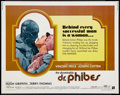 """Movie Posters:Horror, The Abominable Dr. Phibes Lot (American International, 1971). Half Sheets (2) (22"""" X 28""""). Horror.. ... (Total: 2 Items)"""