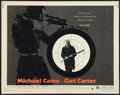 "Movie Posters:Crime, Get Carter (MGM, 1971). Half Sheet (22"" X 28""). Crime.. ..."