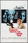 "Movie Posters:Science Fiction, The Omega Man (Warner Brothers, 1971). One Sheet (27"" X 41""). Science Fiction.. ..."