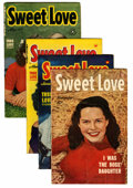 Golden Age (1938-1955):Romance, Sweet Love #2-5 File Copy Group (Harvey, 1949-50) Condition:Average VF-.... (Total: 4 Comic Books)