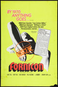 "Movie Posters:Sexploitation, Fornicon (Marvin Films, 1967). One Sheet (27"" X 41"").Sexploitation.. ..."